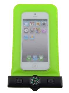 Waterproof Phone Bag - Lime Green Miscellaneous