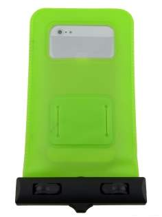 Waterproof Phone Bag - Lime Green