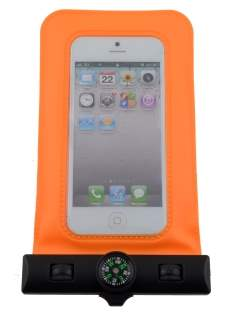 Waterproof Phone Bag - Orange Miscellaneous