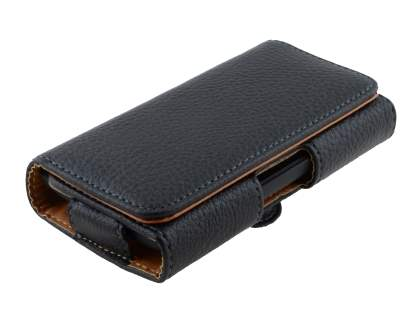 Textured Synthetic Leather Belt Pouch for Sony Xperia Z1 Compact