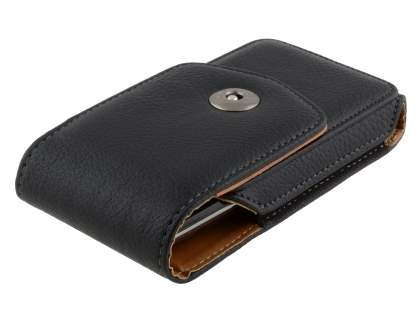 Textured Synthetic Leather Vertical Belt Pouch for Sony Xperia Z1 Compact