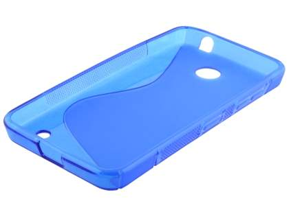 Wave Case for Nokia Lumia 635/636/630 - Frosted Blue/Blue