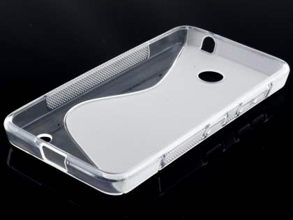 Nokia Lumia 635/636/630 Wave Case - Frosted Clear/Clear