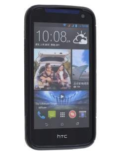 Wave Case for HTC Desire 310 - Frosted Black/Black
