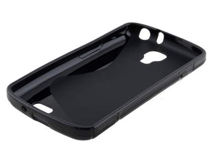 Wave Case for LG F70 D315 - Frosted Black/Black