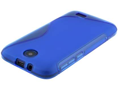 Wave Case for HTC Desire 310 - Frosted Blue/Blue