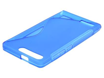 Wave Case for Huawei Ascend G6 4G - Frosted Blue/Blue