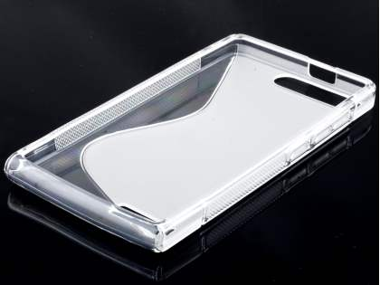 Wave Case for Huawei Ascend G6 4G - Frosted Clear/Clear