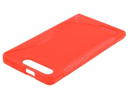 Wave Case for Huawei Ascend G6 4G - Frosted Red/Red
