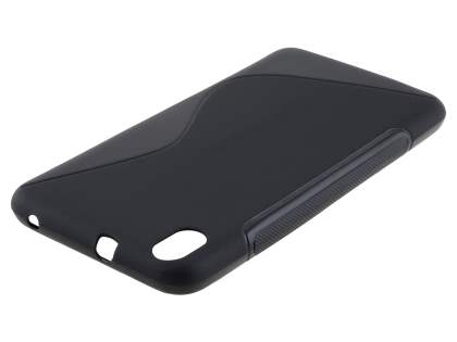 HTC Desire 816 Wave Case - Frosted Black/Black