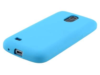 Samsung I9195T Galaxy S4 mini Silicone Case - Sky Blue
