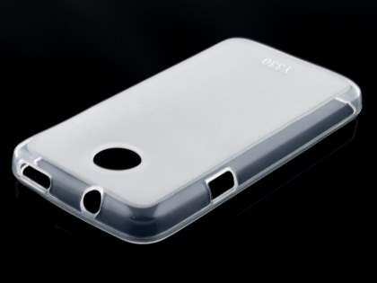 Huawei Ascend Y330 Frosted TPU Case - Frosted Clear