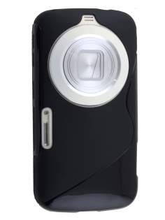 Wave Case for Samsung Galaxy K zoom - Frosted Black/Black