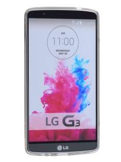 Wave Case for LG G3 - Frosted Clear/Clear