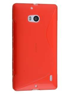 Wave Case for Nokia Lumia 930 - Frosted Red/Red Soft Cover