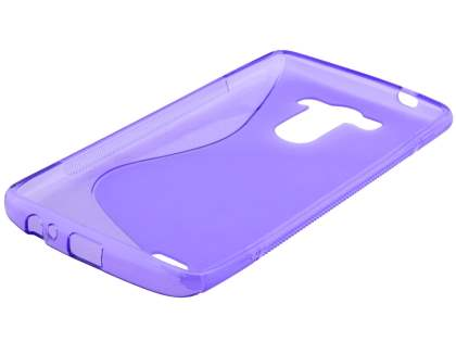 Wave Case for LG G3 - Frosted Purple/Purple