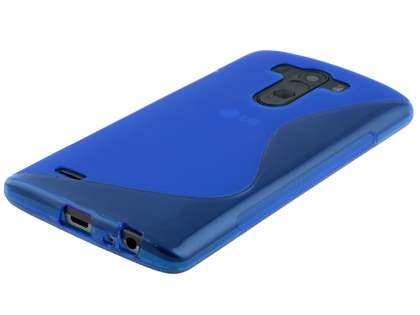 LG G3 Wave Case - Frosted Blue/Blue