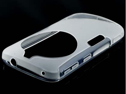 Samsung Galaxy K zoom Wave Case - Frosted Clear/Clear