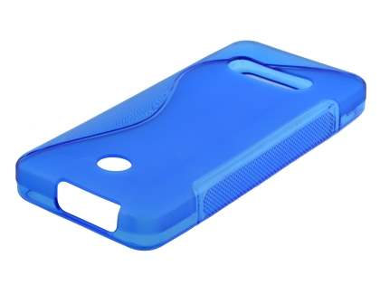 Nokia 301 Wave Case - Frosted Blue/Blue