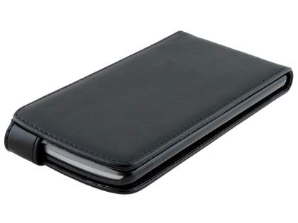 LG G3 Synthetic Leather Flip Case - Classic Black