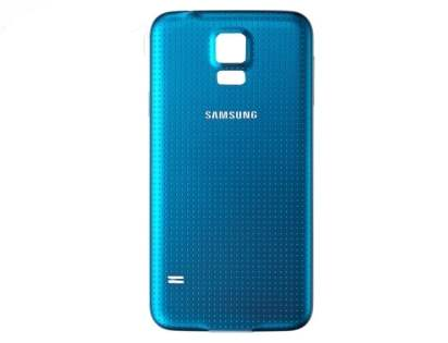 Genuine Samsung Galaxy S5 Battery Cover - Electric Blue