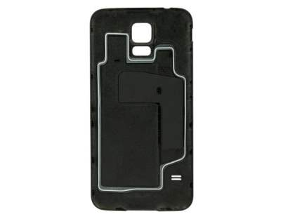Genuine Samsung Galaxy S5 Battery Cover - Charcoal Black