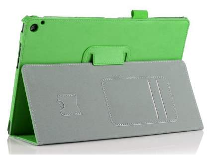 Nokia Lumia 2520 Synthetic Leather Flip Case with Fold-Back Stand - Green