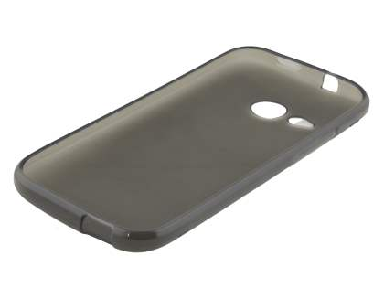 HTC One mini 2 Frosted Colour TPU Gel Case - Frosted Grey