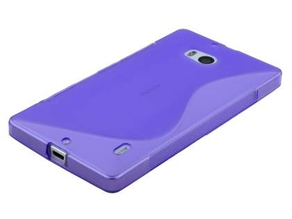 Nokia Lumia 930 Wave Case - Frosted Purple/Purple