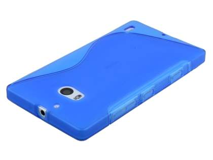 Nokia Lumia 930 Wave Case - Frosted Blue/Blue