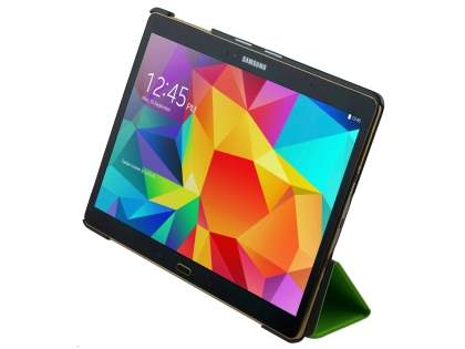 Premium Slim Synthetic Leather Flip Case with Stand for Samsung Galaxy Tab S 10.5 - Green