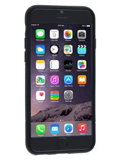 iPhone 6s/6 4.7 inches Wave Case - Frosted Black/Black