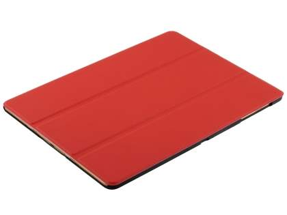 Premium Slim Synthetic Leather Flip Case with Stand for Samsung Galaxy Tab S 10.5 - Red