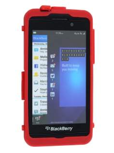 BlackBerry Z10 Impact Case - Classic Black/Red