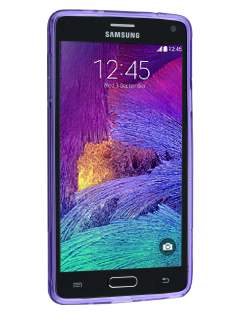 Wave Case for Samsung Galaxy Note 4 - Frosted Purple/Purple