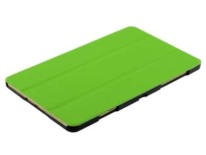 Premium Slim Synthetic Leather Flip Case with Stand for Samsung Galaxy Tab S 8.4 - Green