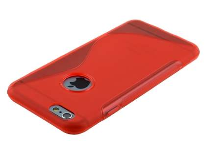 Wave Case for iPhone 6s Plus / 6 Plus - Frosted Red/Red
