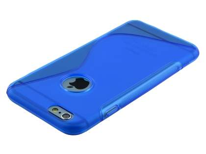 Wave Case for iPhone 6s Plus / 6 Plus - Frosted Blue/Blue