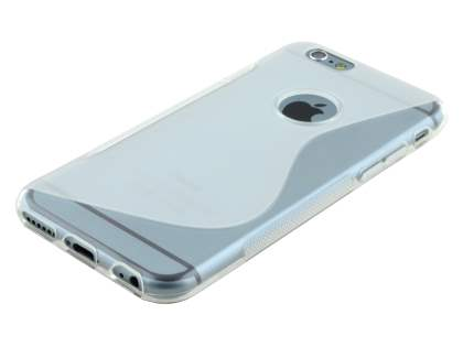 iPhone 6s/6 4.7 inches Wave Case - Frosted Clear/Clear