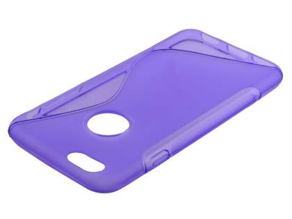 iPhone 6s/6 4.7 inches Wave Case - Frosted Purple/Purple