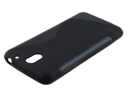 HTC Desire 610 Wave Case - Frosted Black/Black