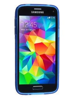 Samsung Galaxy S5 mini Wave Case - Frosted Blue/Blue