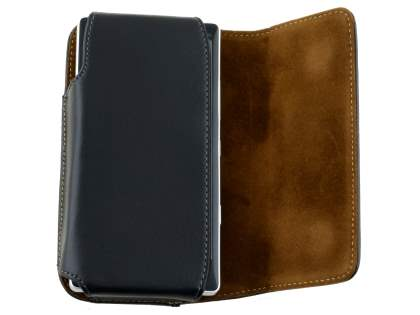 Extra-tough Genuine Leather ShineColours belt pouch for Nokia Lumia 930