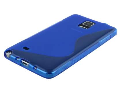 Samsung Galaxy Note 4 Wave Case - Frosted Blue/Blue