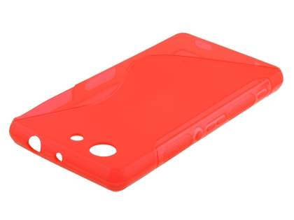 Wave Case for Sony Xperia Z3 Compact - Scarlet Soft Cover