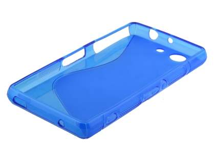Wave Case for Sony Xperia Z3 Compact - Frosted Blue/Blue