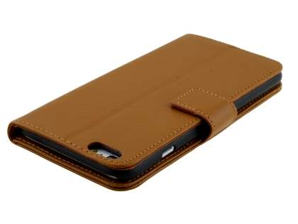 Synthetic Leather Wallet Case with Stand for iPhone 6s/6 - Brown