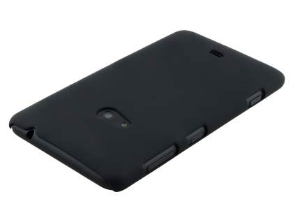 UltraTough Rubberised Slim Case for Nokia Lumia 625 - Night Black