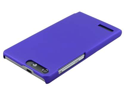 Huawei Ascend G6 4G UltraTough Rubberised Slim Case - Purple