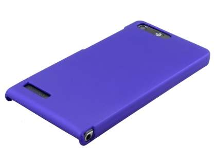 UltraTough Rubberised Slim Case for Huawei Ascend G6 4G - Purple
